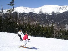 Best top to bottom ski trails in New England...