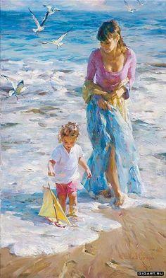 Precious Moments - Michael and Inessa Garmash - World-Wide-Art.com - $1200.00