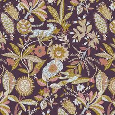 Done with this one for @sanctuarystudio_ Probs gonna be on some pillows or beds not sure if you wanna roll around in a jungle mess . #plants #nature #jungle #illustration #pattern #design #jaguar #parrot #seeds #fall #summer