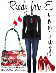 """Miche Classic Hope Red"" by miche-kat on Polyvore  http://www.simplychicforyou.com/"