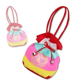 Hanbok Handbag Korean traditional Girl Dress lucky pocket bag accessory baby 1EA #FairyCloset #Koreanhanbokhairband