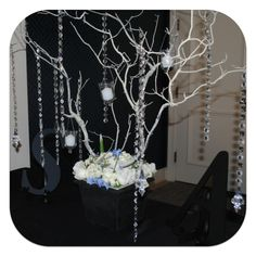 Something Blue Collection - Welcome Table Manzanita Tree
