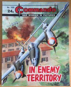 Commando Comic Picture Library #1935 War Action Adventure £2