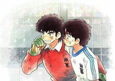 Captain Tsubasa, Mikuo, Fanart, Old Anime, Kawaii, Manga Comics, Fujoshi, Cartoon Network, Memes