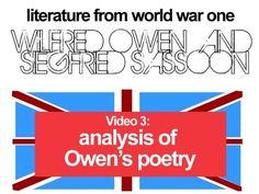 WW1 Literature: Sassoon & Owen 3