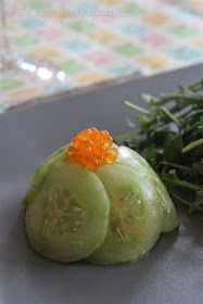 Dômes concombre & saumon