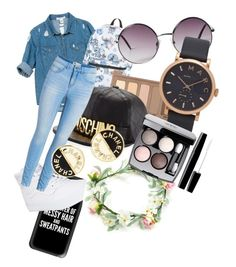"""""""hhcfcvb"""" by andyytorress on Polyvore featuring Sans Souci, Casetify, Disney, Monki, Vans, Urban Decay, Marc Jacobs, Moschino and Chanel"""