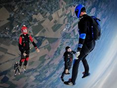 Paraquedismo: Esportes Radicais
