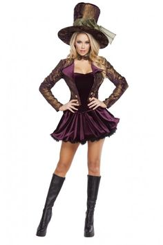 Tea Party Tease Sexy 5 Piece Storybook Costume