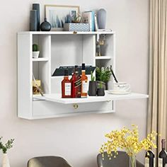 Hanging Cabinet, Bathroom Mirror Cabinet, Hanging Table, Hanging Storage, Table Storage, Storage Cabinets, Storage Chest, Wall Mounted Desk, Wall Desk