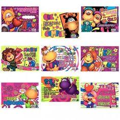 tarjetas maguz Kids Rugs, Mugs, Blue, Amor, Bag Packaging, Photo Editing, Phone Backgrounds, Happy Day, Vinyls