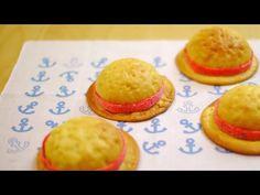 シャンクスの麦わら帽子 メロンパン One Piece Red-haired Shanks Melon Pan - YouTube