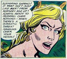 Silver Age Hippolyta, Queen of the Amazons.