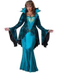 Plus size medieval fancy dress