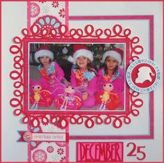 December 25...Christmas Layout
