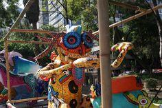 TONALPAUALLI Autor: Javier Bautista Escalante Colectivo La Creativa Fábrica de Arte Popular *  No.  149 Mención Honorífica de 9no Desfile y Concurso de Alebrijes Monumentales del MAP