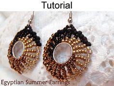 Beaded Patterns Earring Beading Tutorials by SimpleBeadPatterns