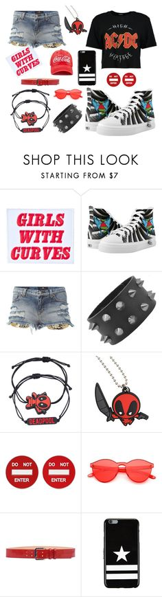 Skater girl with tattoo Sneakers by moosedisco on Polyvore featuring Demian Renucci, Marvel, Moschino, Givenchy, Forever 21 and Dsquared2