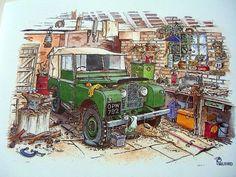 A good ol´ Land Rover 90