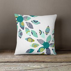 Throw Pillow Cover Decorative Pillow Cover by HLBhomedesigns