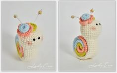 Crochet Snail - So cute!