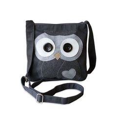 Crossbody - Applique Owl