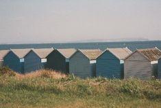 Beach huts at Avon beach, Mudeford