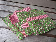 Shady Tree Diary: {Scrappy Christmas Coasters}