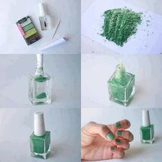 Home made nail polish