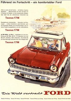Ford Taunus 17m 20m P5 Temperaturanzeige Oldtimer Neu