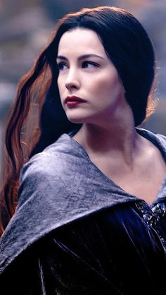 Arwen Undómiel -(Evenstar) was born in the year TA 241, as the last child of the Elf-Lord, Elrond Peredhel and Celebrian, daughter of Galadriel and Celeborn