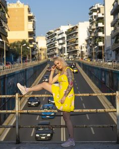 #imikriollandeza #ootd #style #styling #summeroutfit #springoutfit #outfit #2019fashion #fashion2019 #streetstyle #neon #neongreen #neondress #yellowfashion #yellowoutfit #yellowdress #neotraditionaltattoo #tattoo #imikriollandezatattoo #pinktattoo #neotrad #dutchgirl #dutchgirltattoo #luvnroll Neon Dresses, Neo Traditional Tattoo, Yellow Fashion, Neon Green, Yellow Dress, Youtubers, Summer Outfits, Cover Up, Ootd