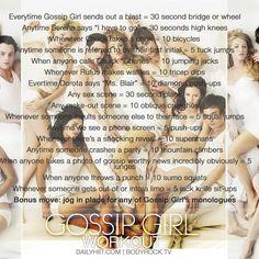 TV Show Workout: Gossip Girl