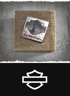 Just the right size to capture a memory. | Harley-Davidson Pink Label Magnet Photo Frame
