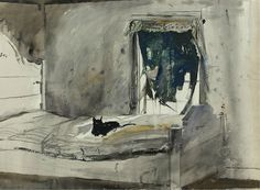 Christina's Bedroom, by Andrew Wyeth (1947)