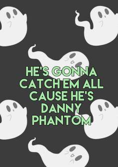 ~Danny Phantom Theme Song~ Nickelodeon #DannyPhantom #Wallpapers #LyricWallpapers #Lyrics #oldnickshows