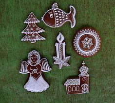 Gingerbread Cookies, Christmas Cookies, Christmas Ornaments, Holiday Decor, Photograph Album, Xmas Ornaments, Ginger Cookies, Xmas Cookies, Christmas Jewelry