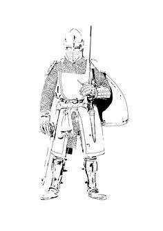 Artist: Baarts Image: A christian warrior created using shadow as a focus.