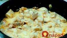 Obed za 15 minút: Kuracie mäsko v syrovej omáčke!