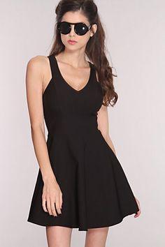 #Amiclubwear              #Skirt                    #Black #V-Neck #Sleeveless #Skater #Skirt #Party #Dress                       Black V-Neck Sleeveless Skater Skirt Party Dress                              http://www.seapai.com/product.aspx?PID=1737823