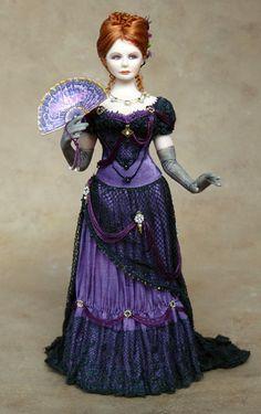 Gina C. Bellous Miniature Dolls: New Photos Of Chantelle