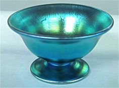 Aggressive Two Vintage Art Glass Bowls Art Glass