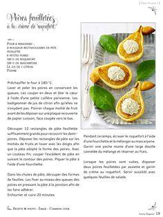 Le premier magazine numérique, gratuit et collaboratif des blogs culinaires. Au sommaire : Naturellement bon - Ils font le Buzz : La Saint-Jacques, Le foie gras, L'huile d'olive, Le chocolat - Dîtes Cheese ! - Épicez les fêtes -...