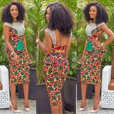 Check Out This Beautiful Ankara Skirt and Blouse Design . Check Out This Beautiful Ankara Skirt and Blouse Design African Wedding Dress, African Print Dresses, African Fashion Dresses, African Dress, Ghanaian Fashion, African Prints, Nigerian Fashion, African Attire, African Wear