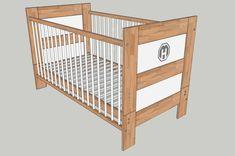 Umbaubett (Babybett, Kinderbett) - Bauanleitung zum Selberbauen - 1-2-do.com - Deine Heimwerker Community Bosch, Bunk Beds, Cribs, Storage, Diy, Furniture, Home Decor, Create, Infant Bed