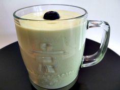 Avocado-milk smoothie