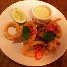 Five peppered squid #Foxlow #Hawksmoor #Chiswick #wheretoeatinLondon #LondonFoodie #LondonRestaurantReviews #LondonEats #FizzofLifeBlog www.fizzoflife.com