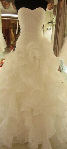 White Wedding Dresses, Wedding Gown,Organza Wedding Gowns,Ball Gown Bridal Dress,Fitted Wedding Dress,Corset Brides Dress,Vintage Wedding Gowns,Sweetheart Wedding Dress