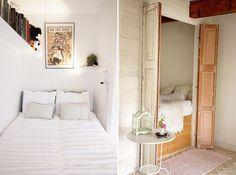 tiny apartment closet bedroom