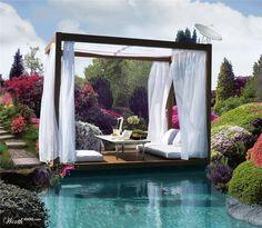 Garden Pond Office - Worth1000 Contests